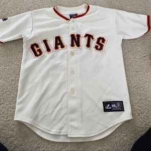 SF Giants World Series BUSTER POSEY Jersey